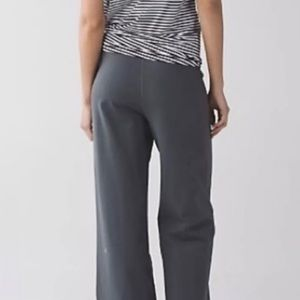Lululemon flare/bootcut leggings grey